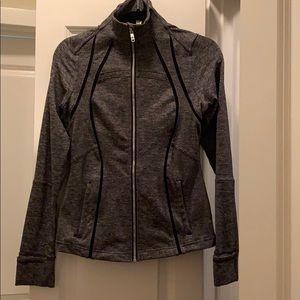 Lululemon gray/black define jacket